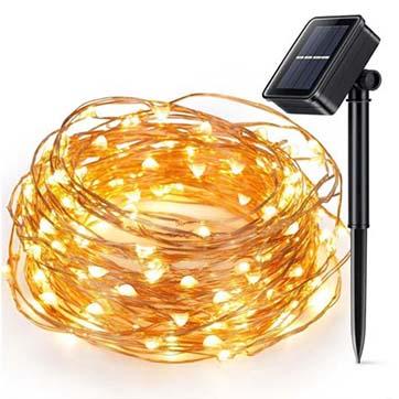 päikeseenergia vasktraat kerge valgus